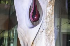 """Escultura """"Gota de Vida"""""""
